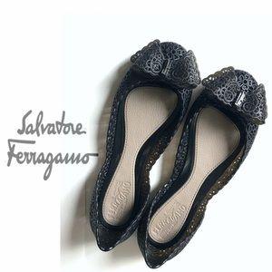 NWOT Authentic Ferragamo Flats